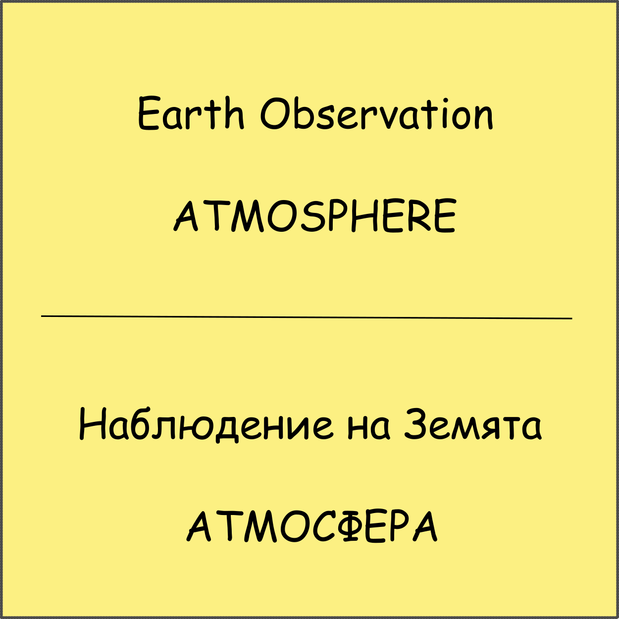 Earth Observation - ATMOSPHERE