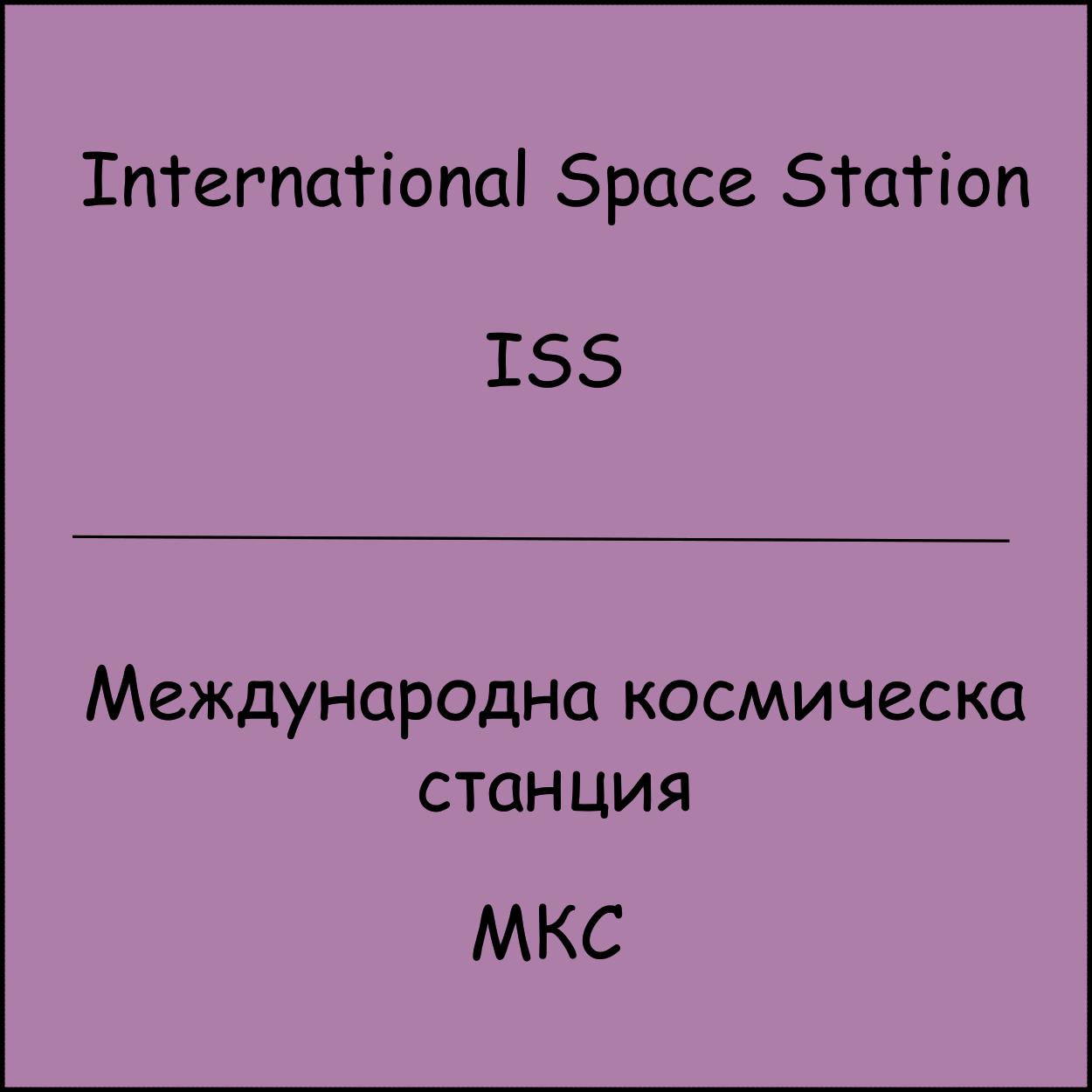 ISS / MKC